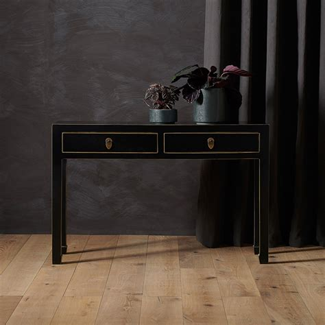 Narrow Chinese Style Console Table Oriental Furniture