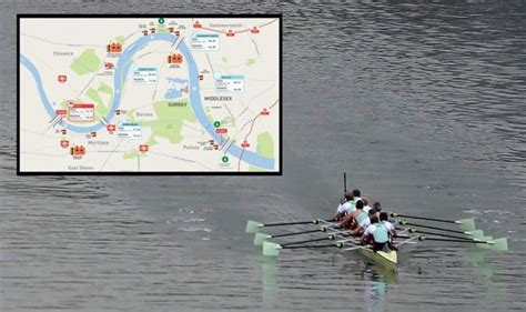 Boat race 2019: Where to watch Oxford vs Cambridge rowing