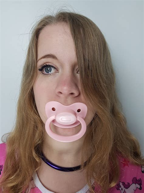 Baby Pink Pacifier – The Dotty Diaper Company