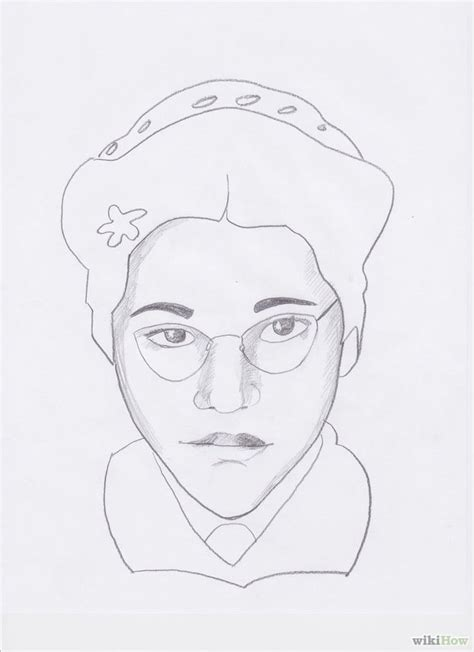 How to Draw Rosa Parks: 7 Steps (with Pictures) - wikiHow