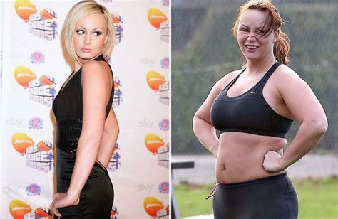 Chanelle Hayes' yo-yo dieting from size 8 to 18 after