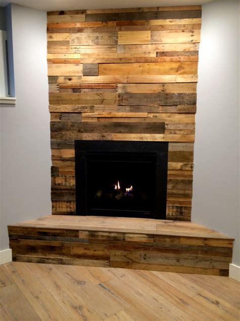 Pre-Fab Wood Wall Panels   Reclaimed Pallet Wood Paneling