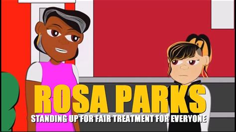Rosa Parks Cartoon (Educational Videos for Students) Watch
