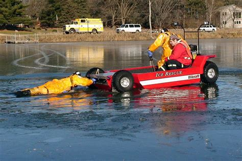 Wilcraft Puts Floating ATVs On Ice   WIRED
