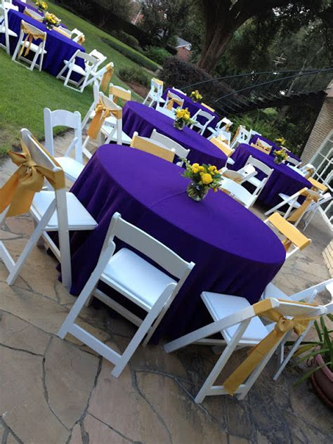 Bliss Events by Rachel: {Real Party} LSU-Themed Dinner