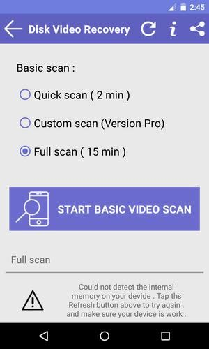 Disk Video Recovery for Android - APK Download