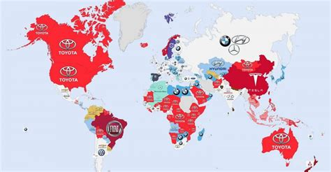 Interesting Infographic Shows Most-Googled Car Brands In