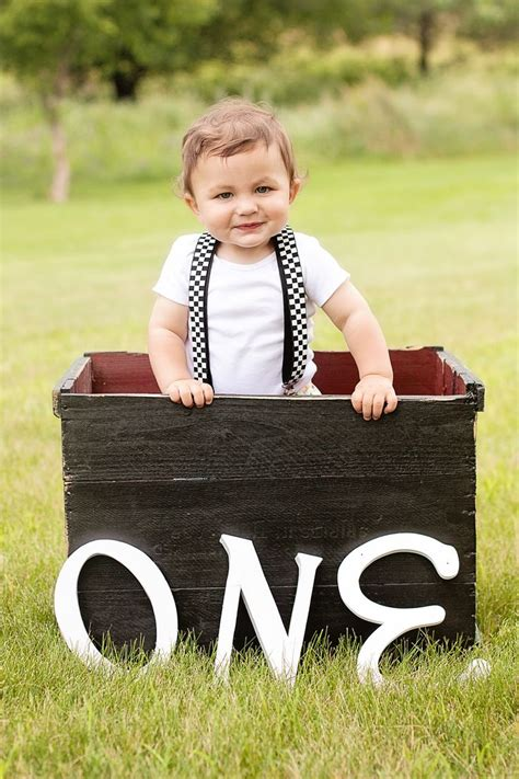 Photography pose and props for one year old   1st boy