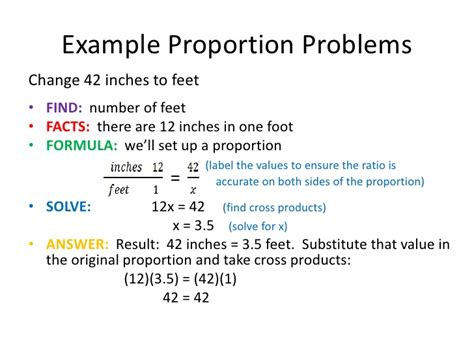 Using Proportions to Solve Problems