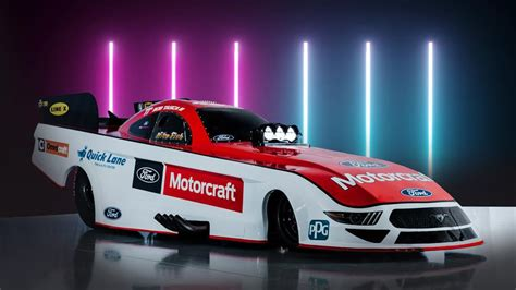 Ford Performance unveils new Mustang Funny Car body | NHRA