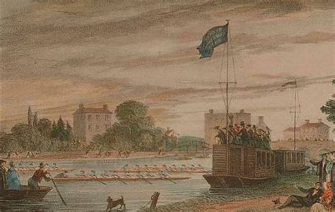 1840s Oxford Rowing - WHERE THAMES SMOOTH WATERS GLIDE