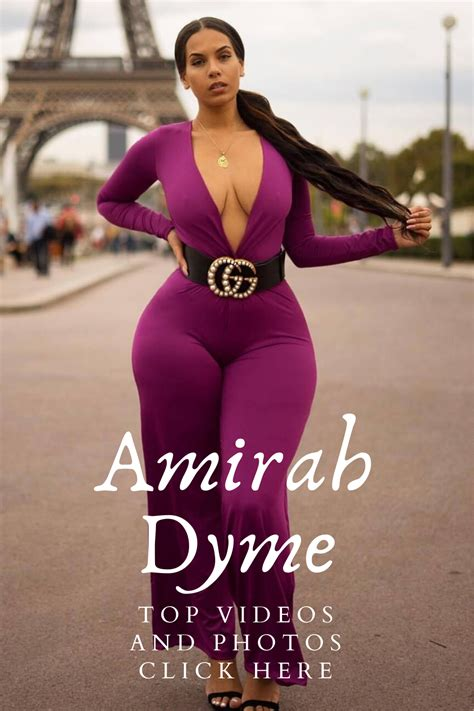 Amirah Dyme is one of the beautiful models on Instagram