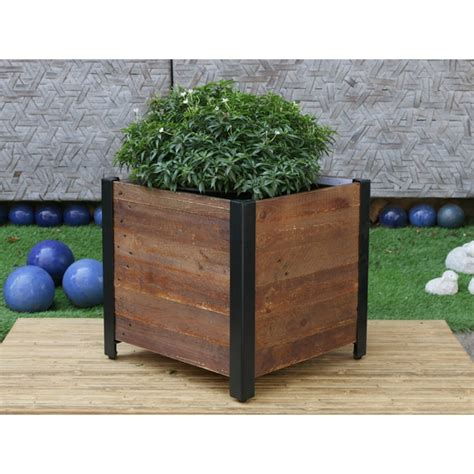 Shop Square Wooden Planter Box - Free Shipping Today