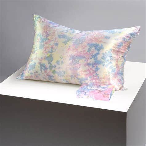 Blissy 100% Mulberry 22-Momme Silk Pillowcase - Yellow Tie