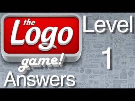 The Logo Game Level 1 Answers - YouTube