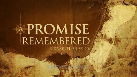 A Promise Remembered - Title Graphics | Igniter Media